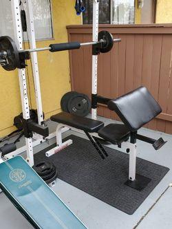 Body Solid Half Cage Squat Rack for Sale in Escondido,  CA