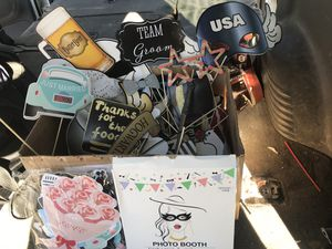Photo booth props for Sale in Phelan, CA