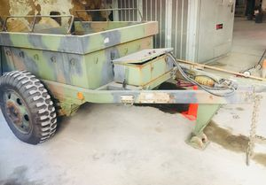 Vintage Military HEAVY DUTY ammo camo trailer for Sale in St. Louis, MO