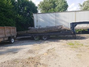 1995 Winston gooseneck trailer 25000 pound till top with winch for Sale in Joliet, IL