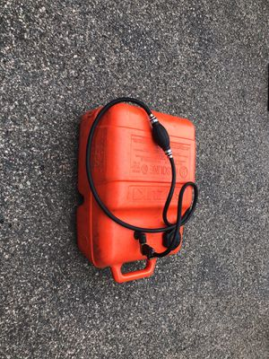 boat gas tank & fuel line for Sale in Waltham, MA