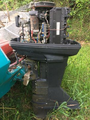 125 Force outboard motor $500.00 o b o for Sale in Houston, TX