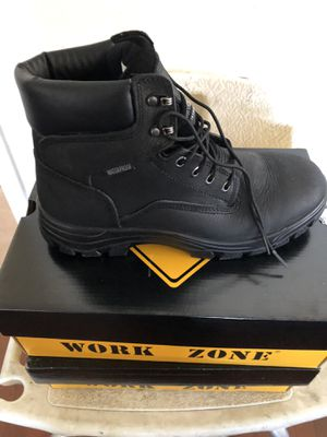 NEW work boots slip resistant and waterproof for Sale in Lynwood, CA
