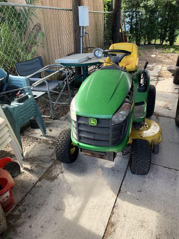 John Deere riding mower / tractor 42 inch cutter