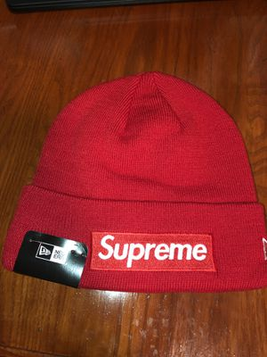 Supreme FW15 Red Box Logo Beanie for Sale in NO POTOMAC, MD