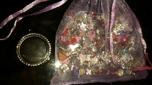 Glass locket charm necklace for Sale in Bruno, NE
