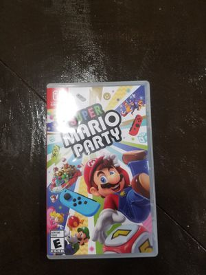 Nintendo switch mario party for Sale in undefined