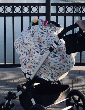 3 -1 cover (Car seat, Nursing and Shopping cart cover) for Sale in Meridian, ID