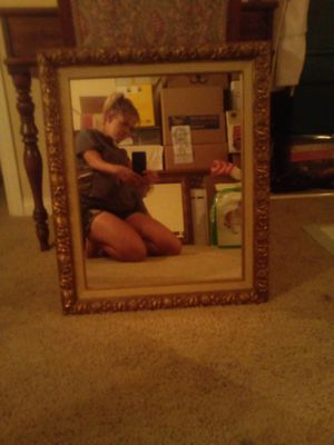 Venice Champagne Gold Rectangle Wall Mirror. for Sale in Las Vegas, NV