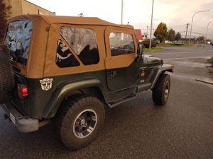 1998 Jeep Wrangler Sahara 4.0 177k 4x4 for Sale in Everett, WA