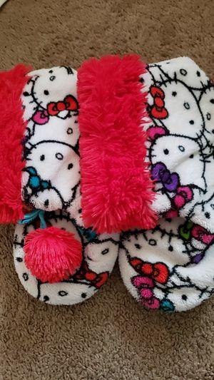 Hello Kitty slippers $2 size 2/3 for Sale in Virginia Beach, VA