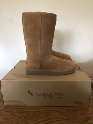 Koolaburra by UGG Koola Tall Girls' Winter Boots - Chestnut for Sale in La Grange, IL