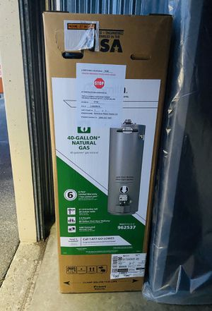 Gas water heater (new) for Sale in Fircrest, WA