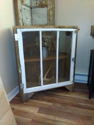 Rustic cabinet for Sale in Marengo, OH