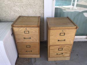 Oak File cabinets for Sale in Henderson, NV