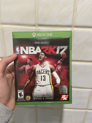 NBA 2k17 for Xbox One! for Sale in Staten Island, NY