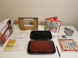 Dark Red Nintendo 3DSXL Full Bundle for Sale in Miami, FL