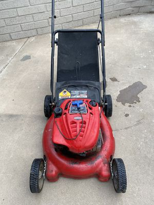 """Troy Bilt 21"""" Mulching Mover {link removed} this machine need new pull string works !! for Sale in Glendale, AZ"""