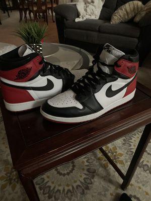 Black Toe Jordan 1's for Sale in Atlanta, GA