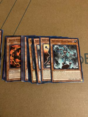 Yu-Gi-Oh : ancient gear core support for Sale in Long Beach, CA