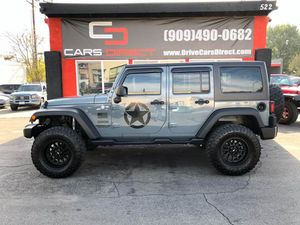 2015 Jeep Wrangler Unlimited for Sale in Ontario, CA