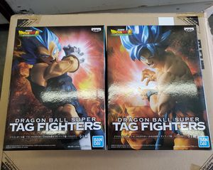 $55 Dragon Ball Super - Tag Fighters Super Saiyan Goku & Vegeta God (set) for Sale in Las Vegas, NV