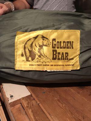Down stuffed Golden Bear sleeping Bags for Sale in Ronkonkoma, NY