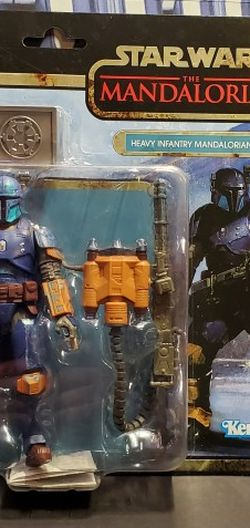 "Star Wars Black Series Heavy Infantry Mandalorian Credit Collection 6"" scale for Sale in Baldwin Park,  CA"