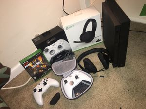 Xbox one X ! With accessories for Sale in Fort Washington, MD