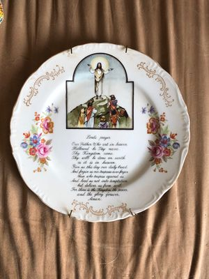 Decorative plate for Sale in Manassas, VA