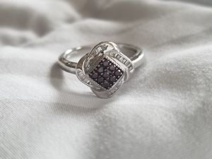 Sterling Silver Diamond Ring for Sale in Pittsburgh, PA