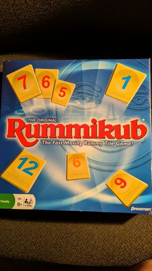 Rummikub Game for Sale in Sunnyvale, CA