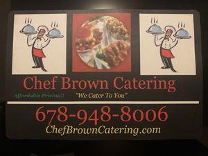 Chef Brown Catering for Sale in Ellenwood, GA