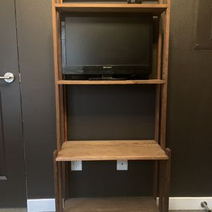 Rustic TV and/or Book Shelf for Sale in Portland, OR