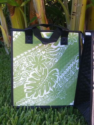 Lovely Hawaiian tote with Tiare/Monstera leaves for Sale in Stockton, CA