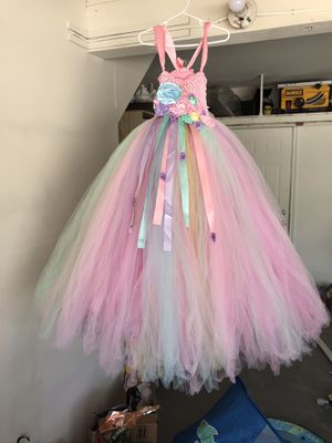 Unicorn dress, photoshoot dress pastel colors for Sale in Ontario, CA