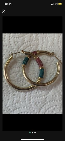 14k Yellow Gold Earrings (Firm Price) for Sale in South Gate,  CA