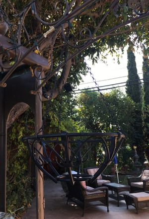 Wrought Iron plant hanger . for Sale in Fremont, CA