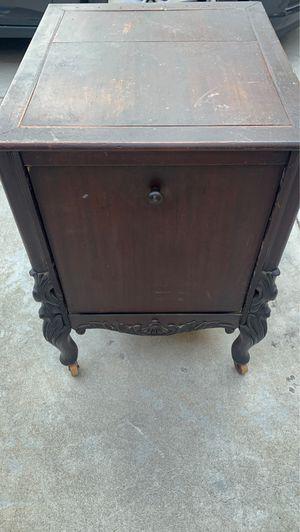 Antique Storage bin on rollers for Sale in Corona, CA