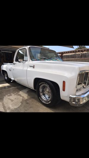 1977 Chevy C10 Stepside Truck for Sale in Wilmington, CA