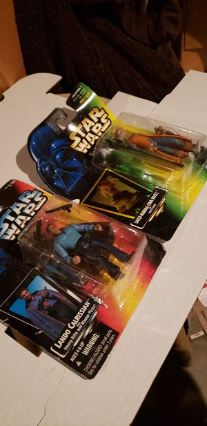 Star Wars lot of two action figures **read INFO for Sale in Clovis, CA