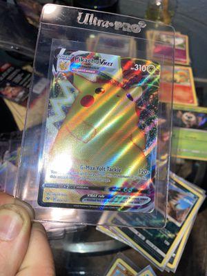 Pokemon Card Pikachu VMAX 044/185 Vivid Voltage Full Art Holo Ultra Rare!!!!!!! for Sale in Largo, FL