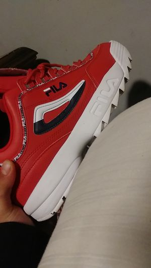 Fila reds for Sale in Littleton, CO
