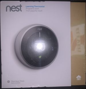 Nest Learning Thermostat - BRAND NEW (still in plastic, factory sealed) - $220 OBO for Sale in Denver, CO