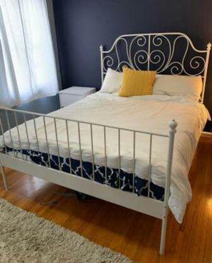 Lk NEW Ikea EASTERN KING Sz Size Bed Frame Bedframe (NO MATTRESS) for Sale in Monterey Park, CA