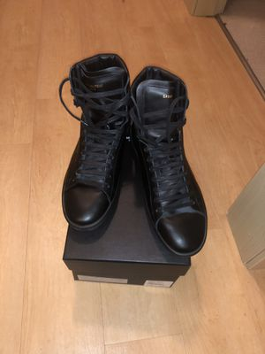 Saint Laurent Men High Top Black Sneaker for Sale in Fitchburg, WI