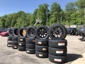 4 Wheel and 4 Tire Packages starting at $1099 for Sale in Chicago, IL