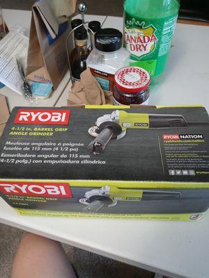 Ryobi Barrel grip angle grinder for Sale in Arlington, VA