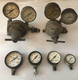(6) Industrial Gauges Valves Regulators.... for Sale for sale  Smyrna, GA