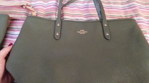 Coach olive green purse and billfold for Sale in Mesquite, TX